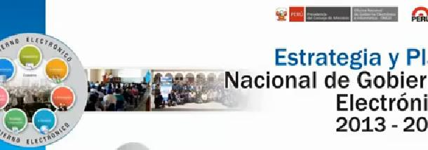 Lanzamiento de la Estrategia y Plan de Gobierno Electronico